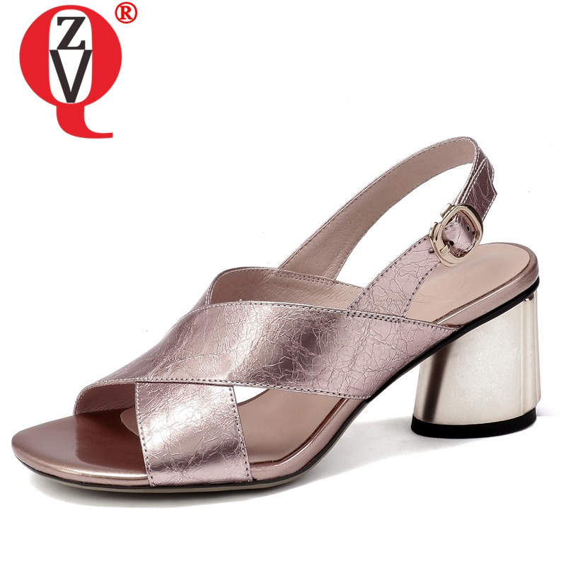 ZVQ <font><b>hot</b></font> <font><b>sale</b></font> shoes woman <font><b>summer</b></font> newest fashion <font><b>sexy</b></font> open toe woman sandals outside <font><b>high</b></font> strange <font><b>style</b></font> buckle solid ladies shoes image