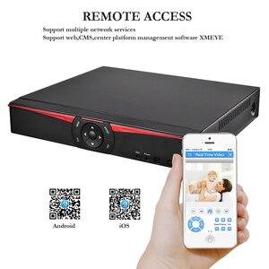 Image 3 - H.265 نظام المراقبة 4CH 5.0MP POE طقم NVR في الأماكن المغلقة في الهواء الطلق رصاصة الصوت سجل 5MP 3MP 2MP IP كاميرا الأشعة تحت الحمراء ليلة P2P مجموعة الفيديو