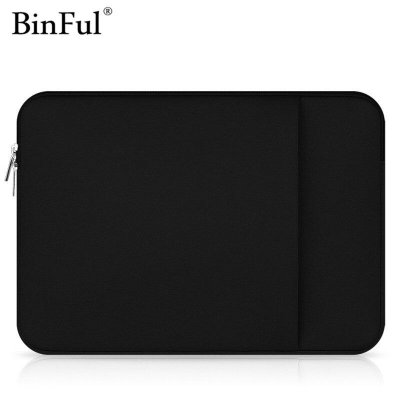 BinFul Fashion Soft Sleeve Laptop Bag Case For mac Macbook AIR PRO Retina 11,12,13,15 inch,Ultrabook Notebook Bag 14 15.6
