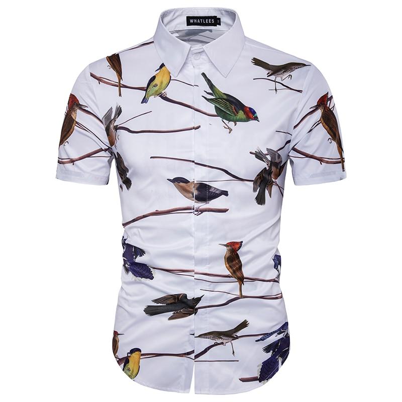 2017 Sommer Britischen Stil Männer Kurzarm Shirts Herren Flanell Geschäfts Printing Männer Hohe Qualität Baumwolle Und Seide Hemd