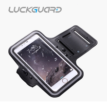 Sport Armband Case Cover  For iPhone 6 7 8 Plus X Samsung Galaxy S6 S7 Edge J7 P8lite 5.5″ Universal Waterproof Running Arm Ban