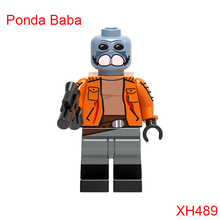Single sale Star Wars Building Blocks Ponda Baba Zander Clone Trooper Cunner Bricks Dolls Kids DIY Toys Hobbies XH489 Figures