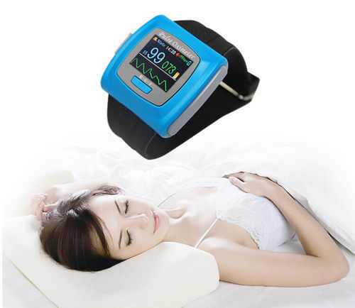 CONTEC Wearable 24 hours SPO2 PR Monitor Wireless Bluetooth Pulse Oximeter CMS50FW Sleep monitoring APP by phone Android and IOS