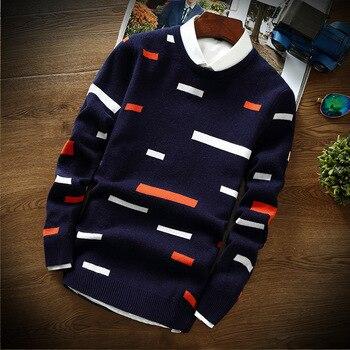 knit collar base sweater
