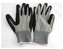 WOB 1 Pairs Cut Resistant Gloves Safety Cutting Level 5 Protection Kitchen Home Work Use