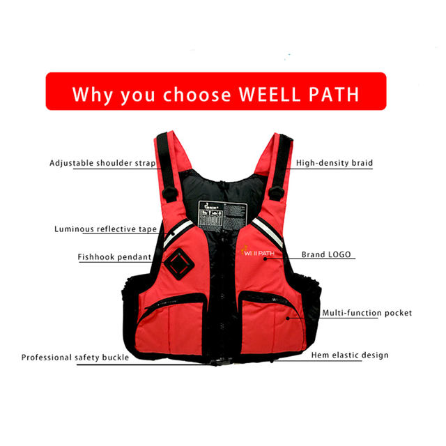 Professional life jacket for adults