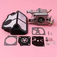 Carburateur filtre à Air Carb reconstruire Kit de réparation pour Husqvarna 36 41 136 137 141 142 tronçonneuse pièce de rechange Zama C1Q-W29E