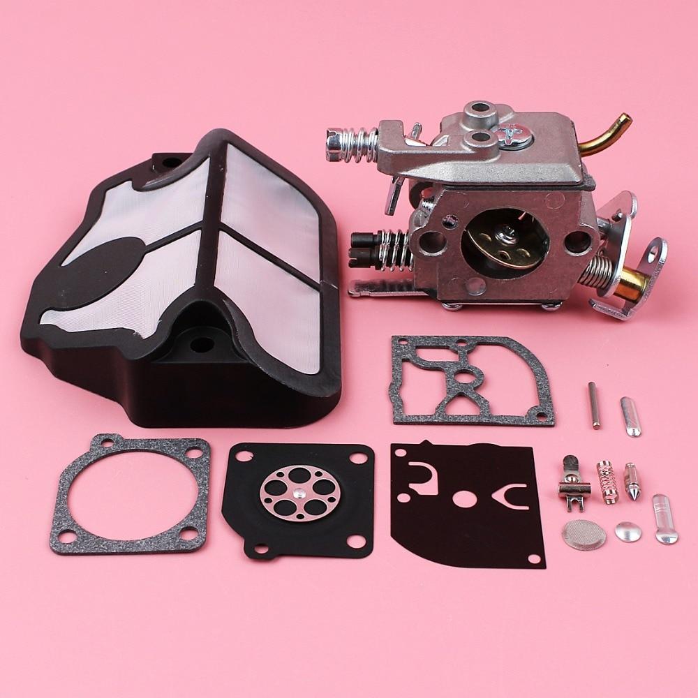 Carburetor Air Filter Carb Rebuild Repair Kit For Husqvarna 36 41 136 137 141 142 Chainsaw Spare Part Zama C1Q-W29E