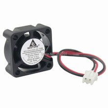 2PCS Gdstime Mini DC 5V 25mm 2510s 25x25x10mm 2Pin Brushless Cooling Cooler Fan