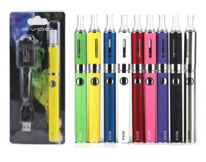 E Zigarette eVod Kit mit MT3 Zerstäuber Blister Starter Kit Ersatz Spule Tank 650/900/1100 mah Evod batterie Vape Verdampfer Stift