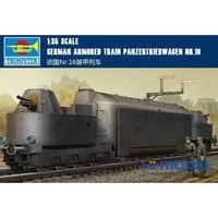 Игрушка модель сборки 00223 1/35 Пособия по немецкому языку Nr.16 бронепоезд