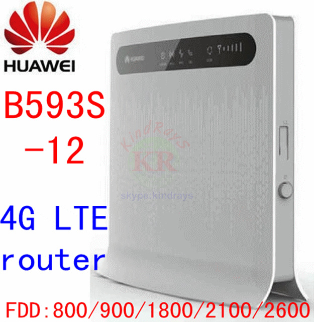 Huawei B593s-12 4G LTE FDD 800/900/1800/2100/2600 Wireless WIFI Router b593 Mobile Broadband PK B593s-22 b890 b310 b315 модем маршрутизатор huawei e3276t 150mbps 3560mah 4g 3g lte 2100 1800 2600 900 800 mhz hsdpa wifi wi fi pk e3276 e5776