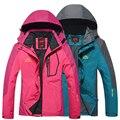 2016 Новый Женщины мужчины куртки и пиджаки jaqueta Туристов пальто для женщин горные куртки верхняя одежда водонепроницаемый Ветрозащитный пары