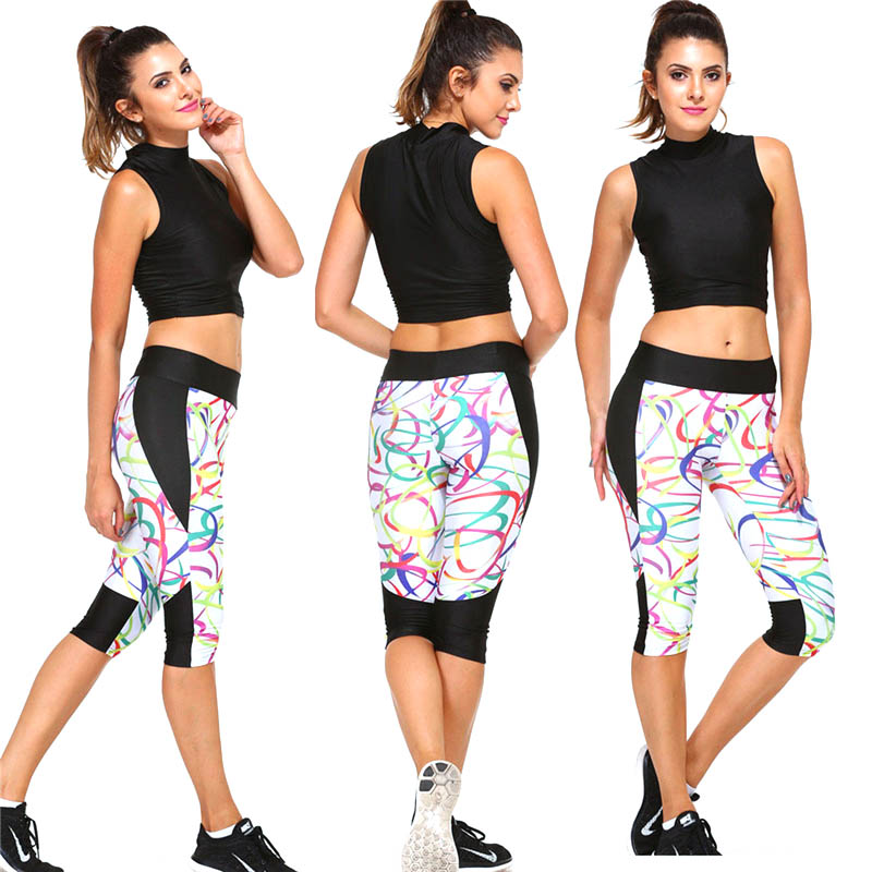 Outdoor 2018 Sexy Shorts Women Yoga Pants Sport Gym Fitness Slim Elastic High Waist Tigh ...
