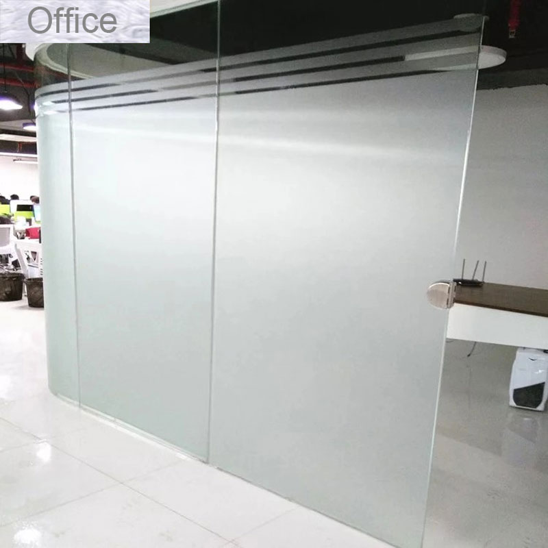 Office Frosted Window Films Glass Stickers Vinyl Self adhesive Privacy Static Cling PET for home foil decorative 70 80 x200cm in Decorative Films from Home Garden