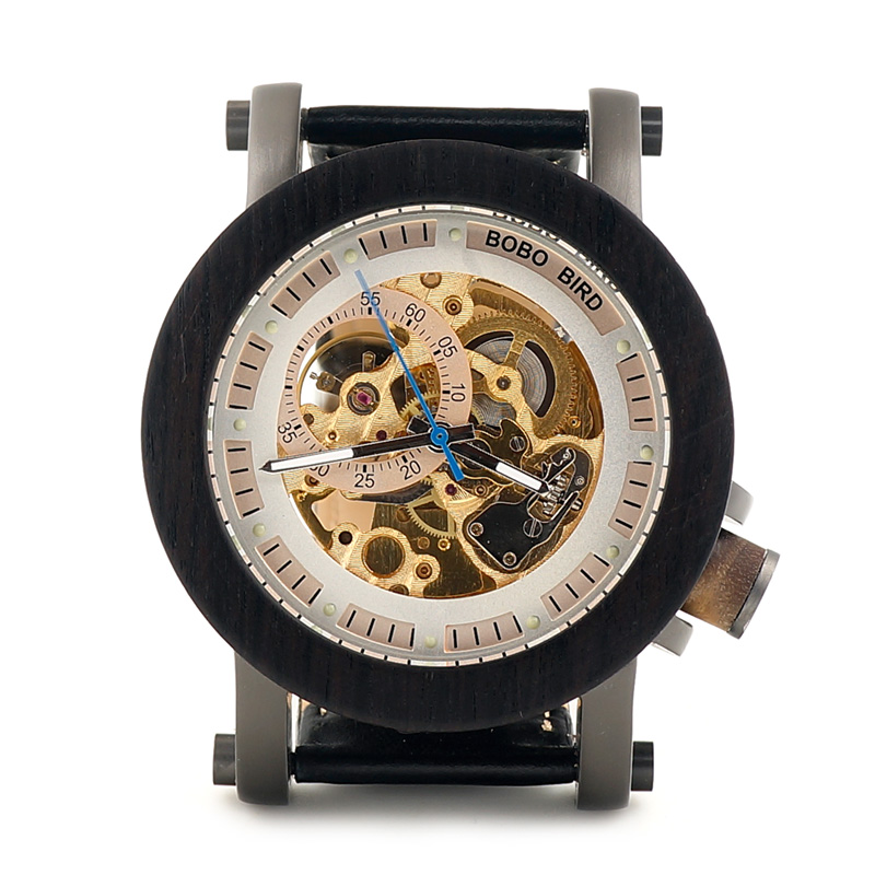 BOBO BIRD Πολυτελή μάρκα ανδρών μηχανική - Ανδρικά ρολόγια - Φωτογραφία 3