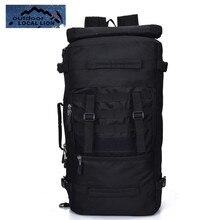 Locallion мужчины сумки рюкзак 50L ноутбук альпинизм рюкзак Популярная Высокое качество водостойкая сумка Бесплатная доставка