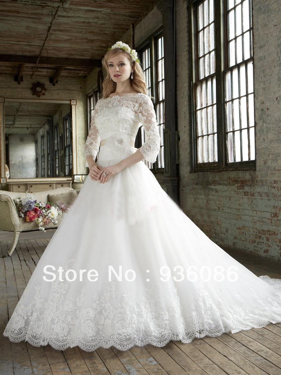 lds wedding dresses 20 Gorgeous Modest Wedding Dresses