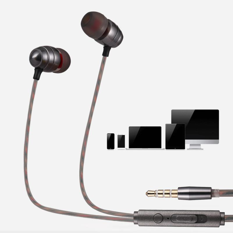 Best Price ! 6 colors 1PC Headphones Super Bass Stereo 3.5mm In-Ear Earphone Sport Headset with Mic For xiaomi for Samsung mar17  new products picun c6 stereo headphones earphone with mic best bass foldable headset for iphone 6s pc mp4 xiaomi huawei meizu