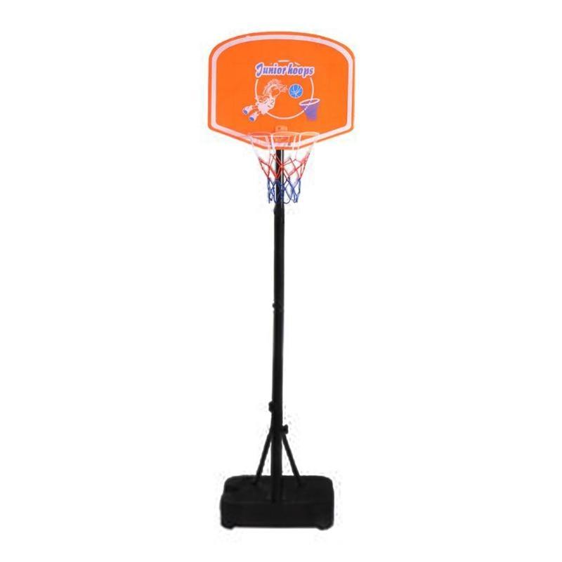 Hauteur réglable enfants suspendus basket-ball Stand intérieur Mini basket-ball cerceau conseil pour enfants jeu basket-ball balles 1.2-1.5 M
