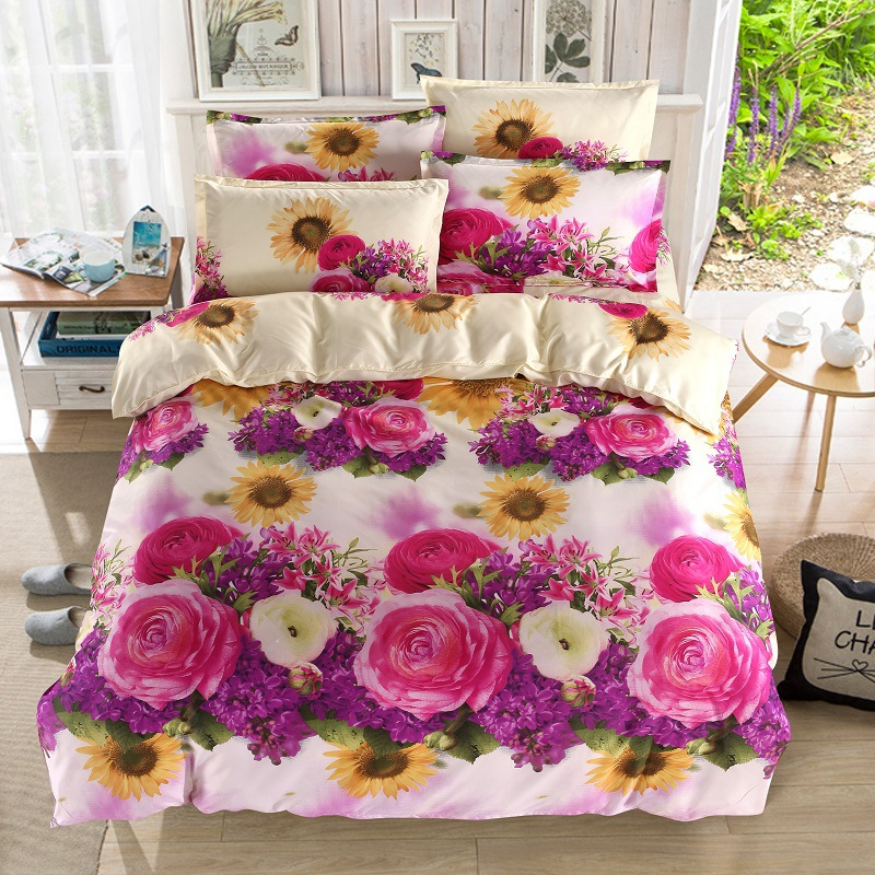 BEST.WENSD 3D Diamond Bedding Set Home Textile 4pcs Family Set Include Bed Sheet Duvet Cover Pillowcase Housse De CouetteBEST.WENSD 3D Diamond Bedding Set Home Textile 4pcs Family Set Include Bed Sheet Duvet Cover Pillowcase Housse De Couette