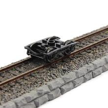 1/160 Scale Train Model Wheels With brake detail for railway model train cabin layout