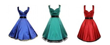 Cheap 50s style plus size dresses