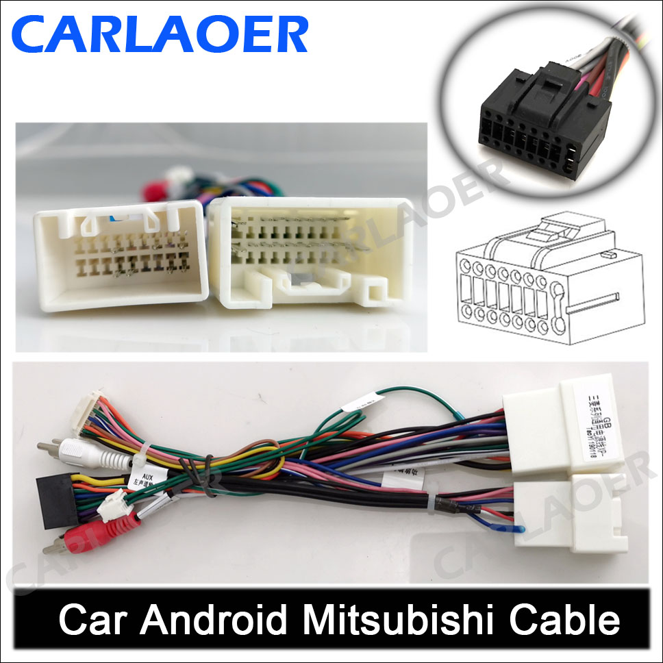 Car Android Mitsubishi Cable