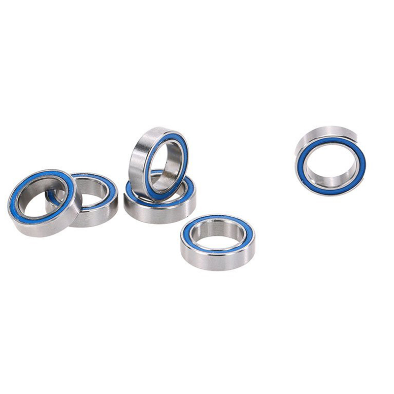 FBIL-6 Pieces RC Racing AXA1230 Ball Bearings(10x15x4mm) Spare Parts Set for 1:10th AXIAL SCX10 Rock Crawler Off-road Car Bugg