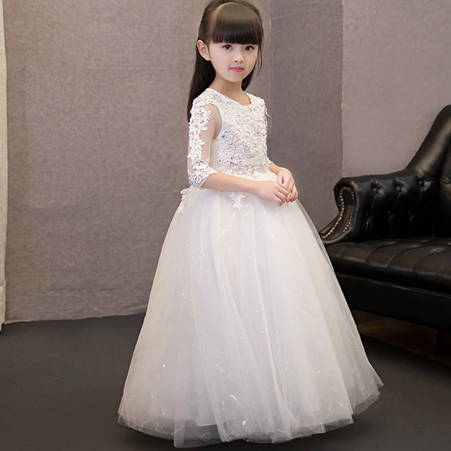Kid party pageant Beautiful fairy dress tulle evening girl ...