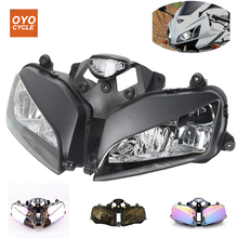 цена на For 03-06 Honda CBR600R CBR 600RR Motorcycle Front Headlight Head Light Lamp Headlamp 2003 2004 2005 2006