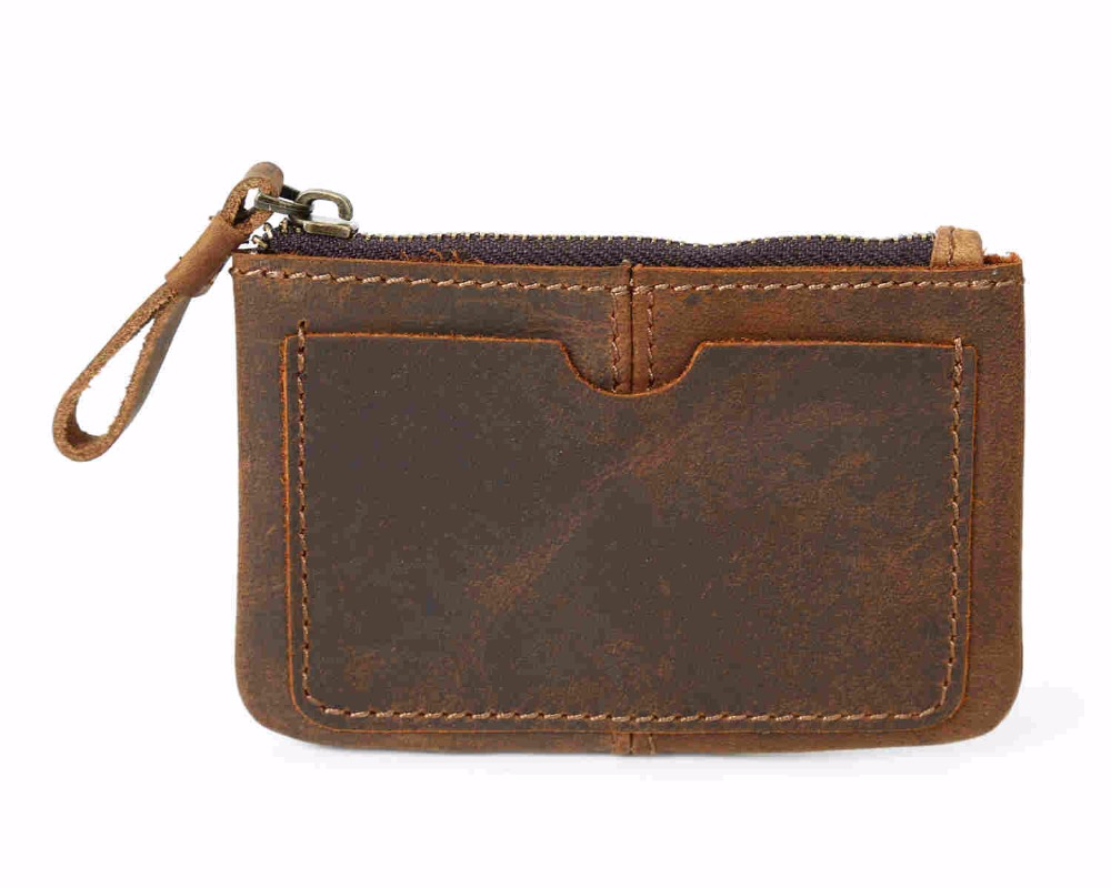 купить Men wallets with coin pocket long zipper coin purse men clutch business Male Wallet Double zipper Vintage Large Wallet Purse онлайн