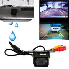 Автомобильная камера заднего вида Универсальная Резервная парковочная камера 10 светодиодный ночного видения Водонепроницаемый 170 широкоугольный HD цветное изображение#0928