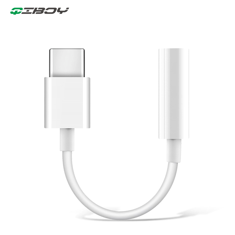 Type C To 3.5MM Jack Headphones Cable USB C 3.5mm AUX Earphone Adapter For Huawei Mate 20 P30 Pro Xiaomi Mi 6 8 9 Audio Adapteur
