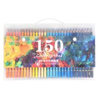 150 Cores Aquarela Suave Solúvel Em Água de Cor Lápis De Madeira Lápis Set Desenho materiais de Arte Pintura A Óleo do Artista Para A Escola