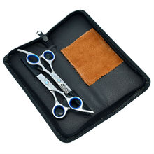 6.0″ Professional Barber VS Cutting & Thinning Hair Scissors Kit Hairdressing Hair Shears Set Case, LZS0121