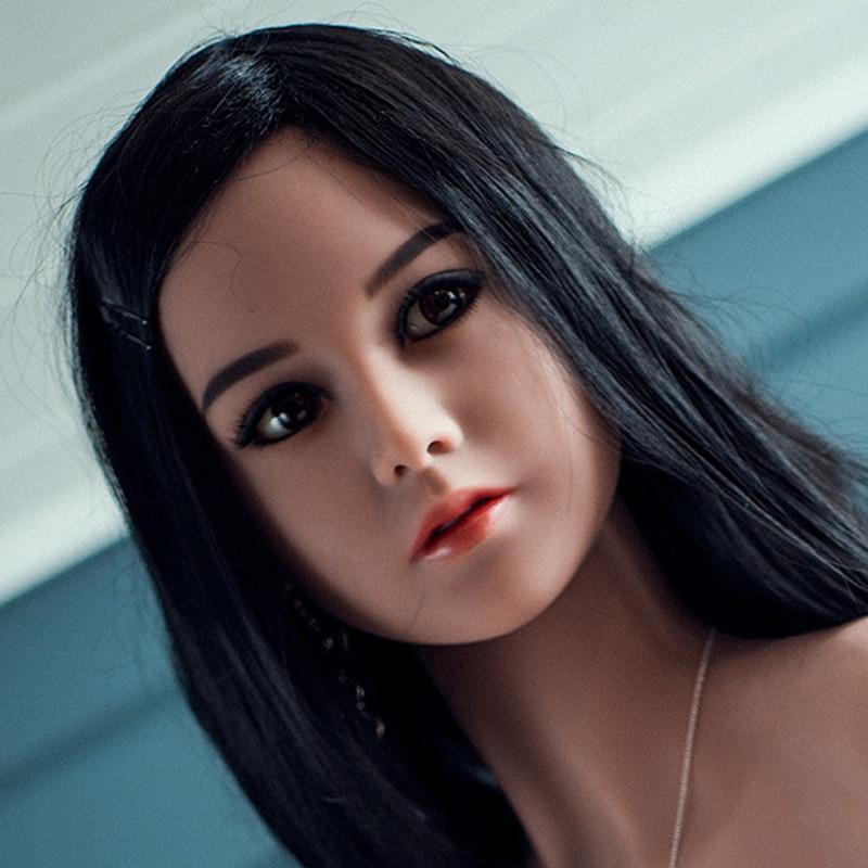 NEW ARRIVAL  TPE sex doll HEAD  lifelike realistic silicone sex love doll HEAD|tpe sex doll head|sex doll head|love doll heads - title=