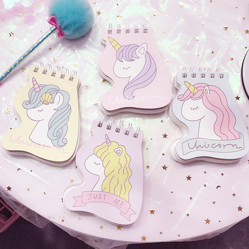 Unicorn Portable Coil Blanket Notebook Writing Drawing Paper Stationery Planner Birthday Gift NotepadUnicorn Portable Coil Blanket Notebook Writing Drawing Paper Stationery Planner Birthday Gift Notepad