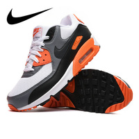Original Authentic NIKE AIR MAX 90 Men's Running ShoesOutdoor Sneakers Shoes,Black, Breathable Wear resistant Non slip 537384