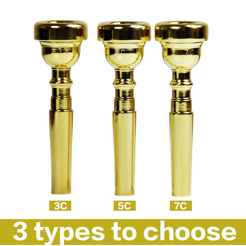 Trumpetiniai aksesuarai 3C 5C 7C dydis Mega Rich Tone Bullet Shape - Muzikos instrumentai