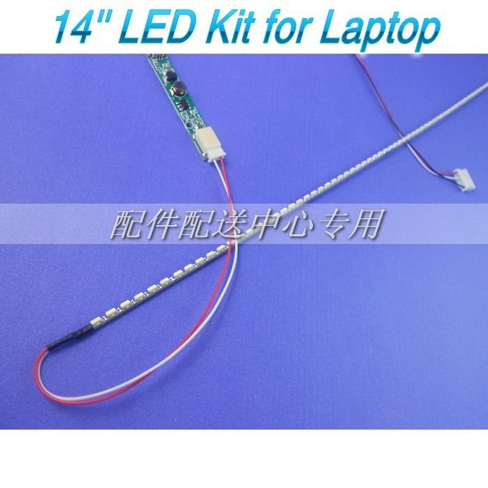 "1 set 14""14 inch Notebook laptop LCD Screen upgrade LED,290mm LED backlight kit"