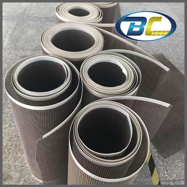 цена Factory Supply UV Curing Machine Teflon Mesh Belt, Drying Guiding Fiber Glass Belt