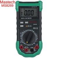 Mastech brand MS8269 3 1/2 Digital Multimeter AC/DC Voltage Current Resistance Capacitance LCR Meter Temperature Inductance Test