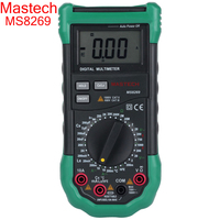 Mastech Brand MS8269 3 1 2 Digital Multimeter LCR Meter AC DC Voltage Current Resistance Capacitance