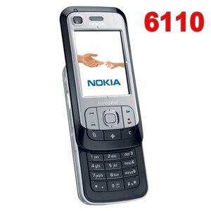 Refurbished Original Unlocked NOKIA 6110 Navigator Mobile Phone Russian keyboard Arabic Keyboard(China)