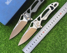 Manufacturer 3 original ceramic ball bearing manufacturer design folding knife blade S35vnTC4 EDC titanium alloy tools