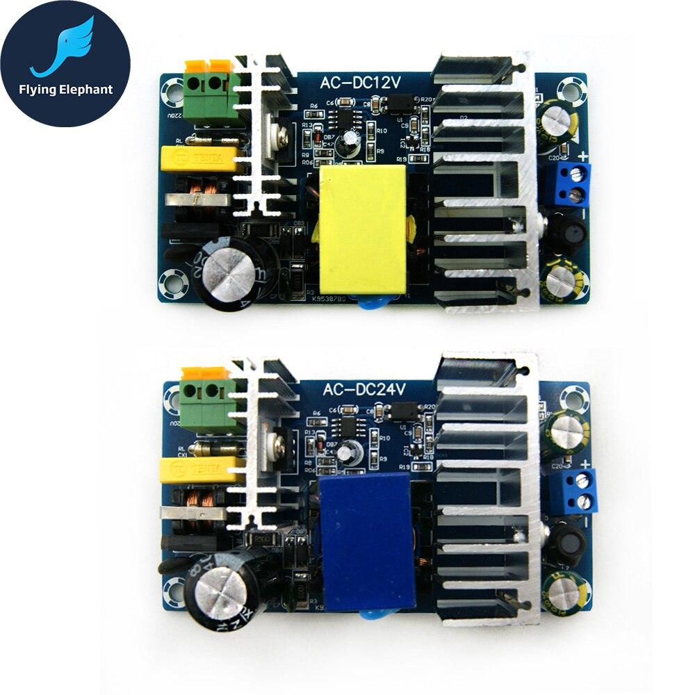 AC85-265V A DC24V DC12V Switching Power Supply Board AC-DC Modulo di Alimentazione 24 V-6A 6-8A 100 W