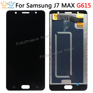 Image 1 - LCD Screen For Samsung J7 MAX Display Touch Panel Digitizer Assembly Repalcement Parts For SAMSUNG G615 lcd display