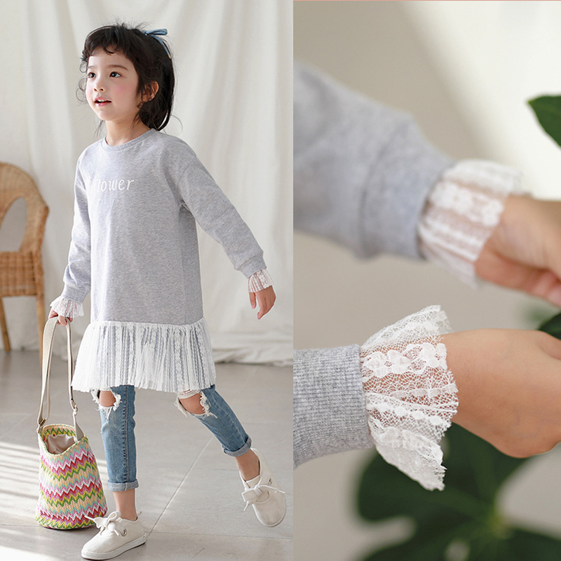 2019 New Spring Baby Girls Lace Dress Kids Letters Dress Infant Dress Baby Princess Toddler Casual Clothes Mesh Sweatshirt,#37852019 New Spring Baby Girls Lace Dress Kids Letters Dress Infant Dress Baby Princess Toddler Casual Clothes Mesh Sweatshirt,#3785