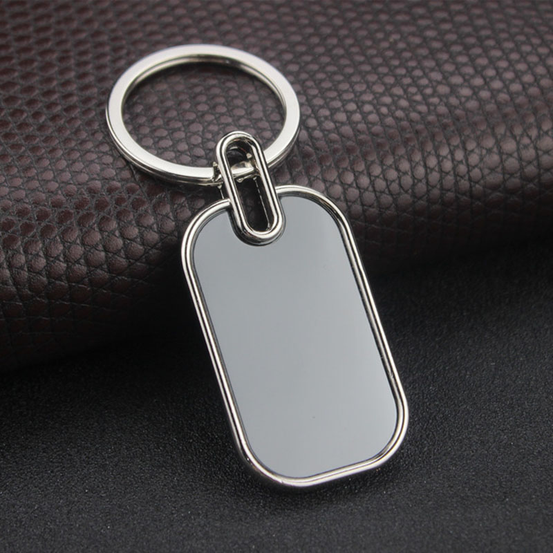RE Customized logo keychain text letter key chains diy gift for women men customer promotion keyring